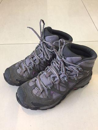 🚚 法國Salomon 高筒登山鞋 Gore-Tex 防水