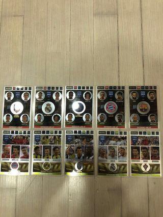 FIFA 365 cards(Multiple)