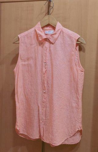 Uniqlo Women's Sleeveless Linen Tops