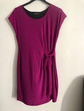 🚚 Purple dress