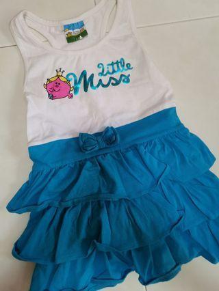 Brand new. Little miss dress