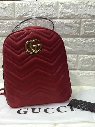 bee88fc38306 gucci backpack authentic | Audio | Carousell Philippines