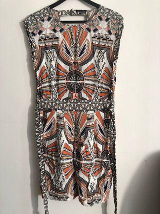 Warehouse tribal dress