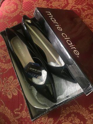 Marie Claire Black Heels