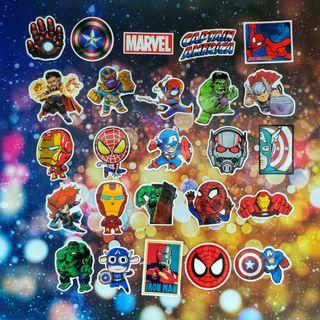 Marvel Avengers Assorted 25 Pieces Stickers