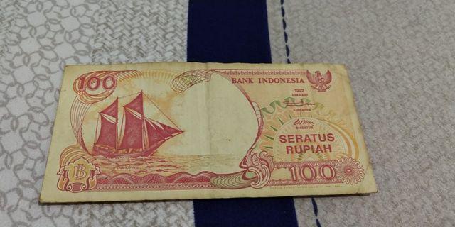 Uang kuno Rp. 100