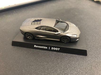 🚚 711經典模型車 1:64藍寶堅尼 6號款Reventon