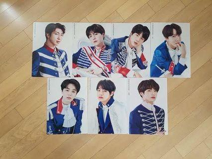 BTS Official 5th Term Army Kit Mini-posters