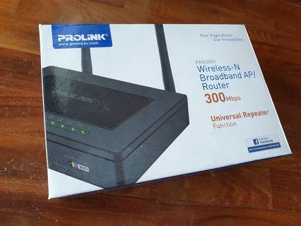 Prolink Wireless N Broadband AP Router 300Mbps