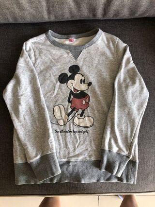 Preloved UNIQLO Mickey Mouse Sweater