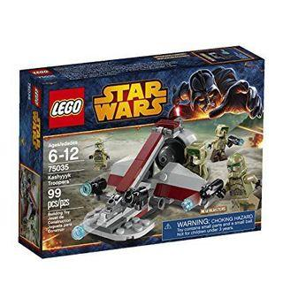 🆕 LEGO 75035 Star Wars Kashyyyk Troopers