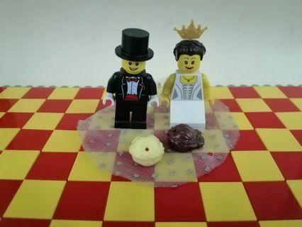 🚚 Lego Wedding Couple