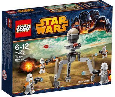🆕 LEGO 75036 Star Wars Utapau Troopers