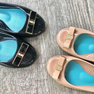 Love Okab Ballet Flats - Westin (Licorice/ Blush)