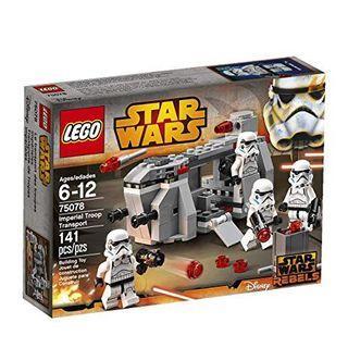 🆕 LEGO 75078 Star Wars Imperial Troop Tansport