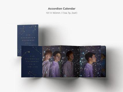 Kpop EXO Seasons Greeting Official Accordion Calendar 2019 Merch #EndgameYourExcess