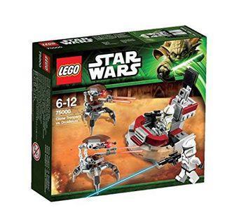 🆕 LEGO 75000 Star Wars Clone Troopers vs. Droidekas