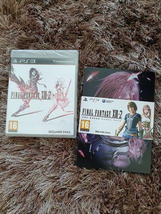 Final Fantasy XIII-2 Game with Pre-Order Bonus Pack