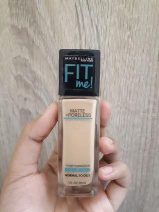 Maybelline Fit Me Foundation - 128