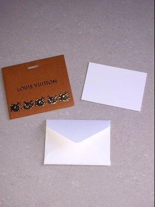 🚚 LV small message card