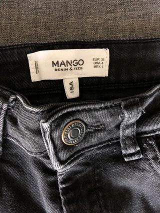 Preloved Mango black  Skinny Jeans
