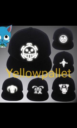 One piece cap