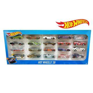 Hot wheels 20 Car Pack H 7045 this set is trunkloads of fun with 20 Hot Wheels® cars included