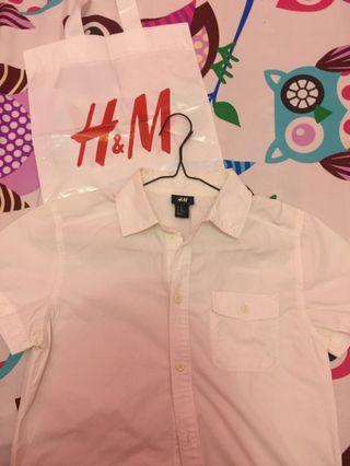 HnM white shirt