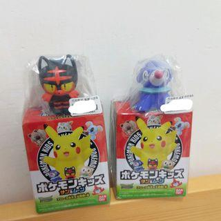 包郵2個 寵物小精靈 pokemom 擺設