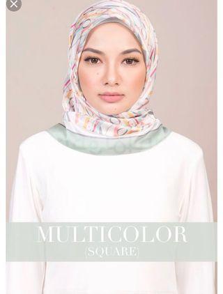 Original Naelofar Hijab, Square