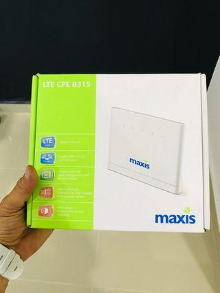 Huawei B315 4G Lte Router - Maxis