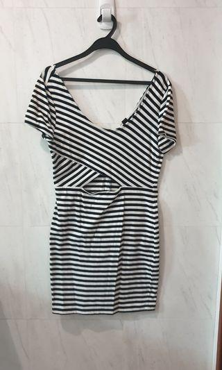 Forever21 Striped Bodycon Dress