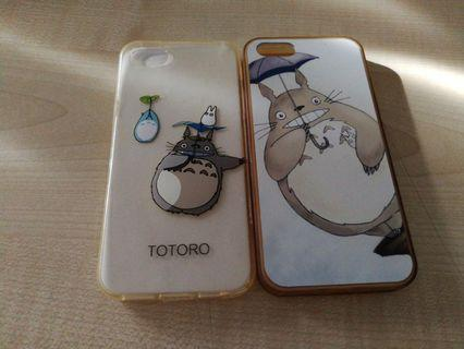 Iphone 5s transparent soft cover