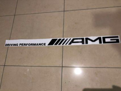 AMG Driving Performance Decal