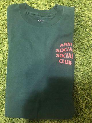 Assc anti social social club tee green