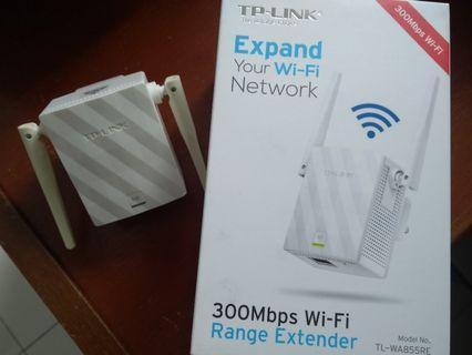 TP-LINK TL-WA855RE WiFi Range Extender N 300Mbps