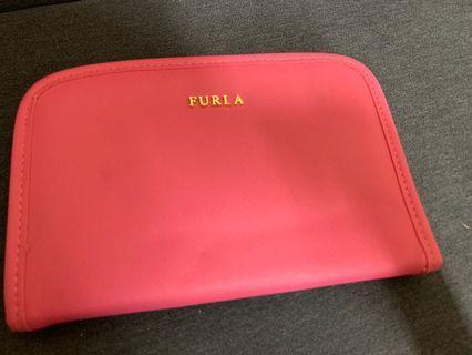100%new Furla travel bag Pouch