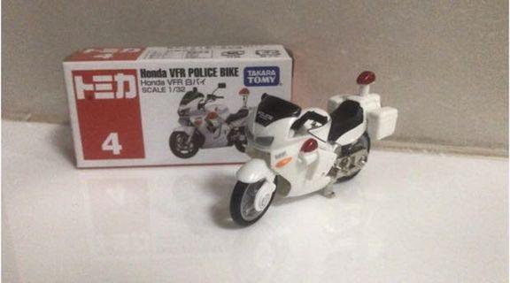 Takara Tomy Honda VFR police Bike 警車鐵馬 1:32