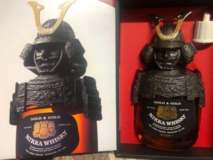 NIKKA WHISKY 日果限量版 Gold&Gold 武士威士忌750mL 大量現貨. NIKKA Gold&Gold Samurai Whisky from Japan