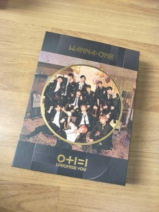 Kpop Official Album Wanna One I Promise You (night)