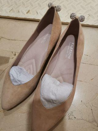 Pazzion Ladies Flats with glitters stones