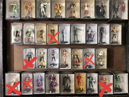 2008-10 Eaglemoss Dc Comics SuperHeroes/Villains Figurines
