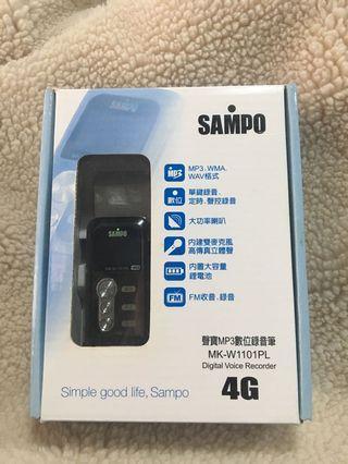 🚚 #半價居家拍賣會SAMPO 聲寶數位錄音筆