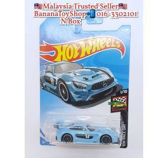 100% Original Mattel Hotwheels 74/250 2016 MERCEDES-AMG GT3