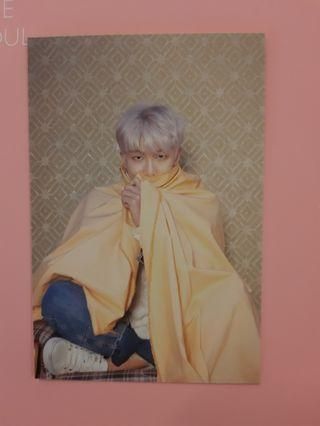 (PRICE REDUCED)BTS MAP OF THE SOUL MOTS RM NAMJOON ver 2 postcard