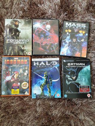 Video Game DVDs