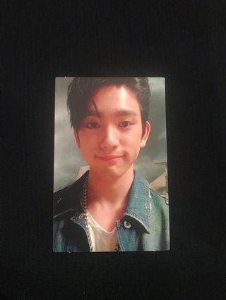 GOT7 jinyoung official photocard