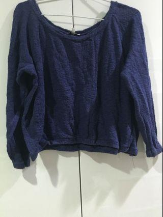 Zara TRF Knit in Blue