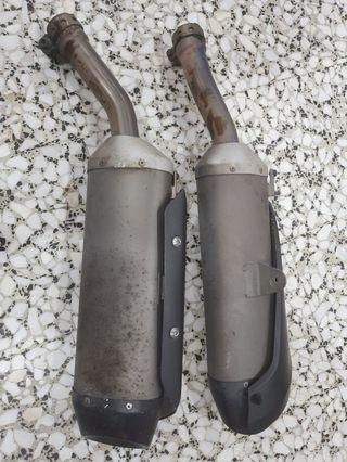 R1 2008 Exhaust