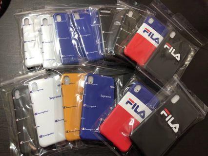 [Instock] FILA/CHAMPION IPHONE SOFT CASE